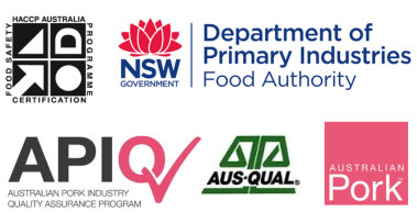 NSW government food authority endorsement