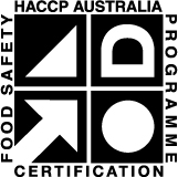 logo - HACCP certification (Hazard Analysis Critical Control Point) – for the control of food safety hazards