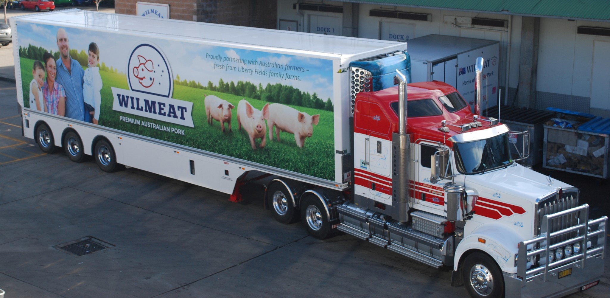 Wilmeat Cut Meats - refrigerated truck
